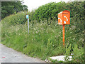 SD9652 : Emergency phone on the A65 at Thorlby by Stephen Craven