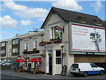 TQ3266 : Fisherman's Arms, Windmill Road, Croydon by Peter Trimming
