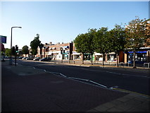SZ0095 : Broadstone: shops on Broadway by Chris Downer
