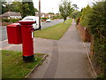 SY9995 : Broadstone: postbox № BH18 146, Clarendon Road by Chris Downer