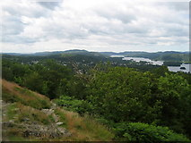 SD4199 : View South West from Orrest Head by Chris Heaton