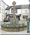 NY7708 : Kirkby Stephen - town war memorial by Stephen Craven