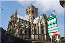 TG2208 : Roman Catholic Cathedral, Norwich by N Chadwick