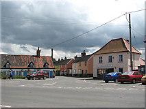 TM0386 : Church Street junction with Garboldisham Road by Evelyn Simak