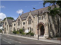 TQ2784 : The Hampstead Seventh Day Adventist Church, Haverstock Hill NW3 by Robin Sones