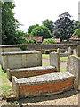 TM0486 : St Mary's church - churchyard by Evelyn Simak