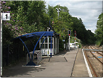 TQ2151 : Platform 1 at Betchworth by Stephen Craven