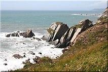 SX6345 : Stacks off the Headland by Tony Atkin