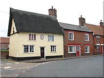 TM0890 : Tudor Rose Cottage by Evelyn Simak