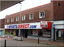 SJ9223 : Former WOOLWORTHS shop by Gordon Cragg