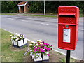 TM3963 : Church Hill Postbox by Geographer