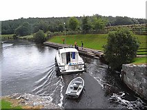 H0911 : Leaving Ballyduff Lock by Oliver Dixon