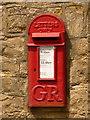 ST7919 : Marnhull: postbox № DT10 151, Gannetts by Chris Downer
