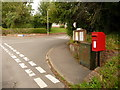 ST8313 : Child Okeford: postbox № DT11 20, Gold Hill by Chris Downer