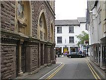 SO2914 : Market Street, Abergavenny by Pauline E