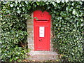 TM3471 : Long Lane Victorian Postbox by Adrian Cable