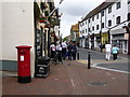 SZ0090 : Poole: postbox № BH15 21, High Street South by Chris Downer