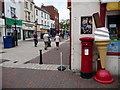 SZ0190 : Poole: postbox № BH15 28, Old Orchard by Chris Downer