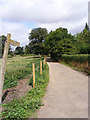 TL5224 : Footpath toChurch Road by Adrian Cable