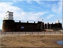 SJ3094 : Fort Perch Rock, New Brighton by El Pollock