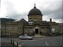 SD6922 : The Library, Darwen, Lancashire by Richard Rogerson