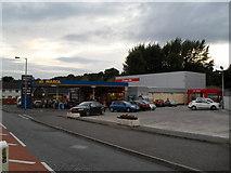 J1953 : SuperValu Supermarket and Filling Station by Dean Molyneaux