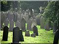 SK5640 : Nottingham General Cemetery: gravestones by John Sutton