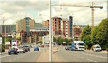 J3573 : The Albertbridge Road, Belfast by Albert Bridge