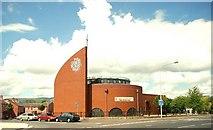 J3573 : The Albert Bridge Congregational Church, Belfast (1) by Albert Bridge