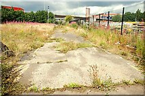 J3475 : Site of Nile Street, Belfast by Albert Bridge