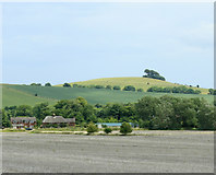 SU1062 : 2009 : Alton Barnes and Woodborough Hill by Maurice Pullin