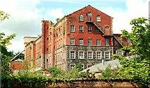J2865 : Former Barbour's Mill, Hilden (2) by Albert Bridge
