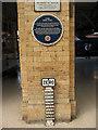 SE5951 : The York Zero milepost by Stephen Craven