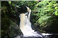 NC8301 : Golspie Waterfall by Andrew Wood