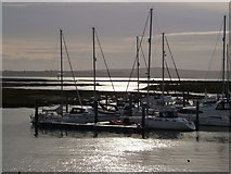 SZ3394 : Marina, Lymington by Derek Harper