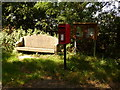 SY8786 : East Stoke: postbox № BH20 220 by Chris Downer