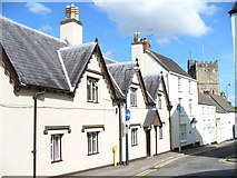 ST5393 : Almshouses, Chepstow by Colin Smith
