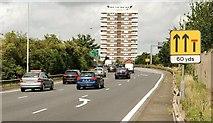 J3375 : The Westlink, York Street, Belfast by Albert Bridge