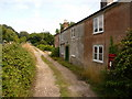 SY8986 : East Stoke: the old post office and postbox № BH20 93 by Chris Downer