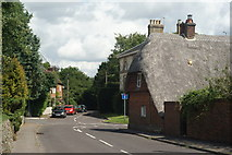 SU7037 : Winchester Road, Chawton, Hampshire by Peter Trimming