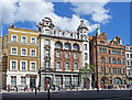 TQ3079 : Buildings, Whitehall, London SW1 by Christine Matthews