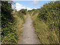 SS8675 : Thoroughfare to Norton ascending away from Ogmore-by-Sea by eswales