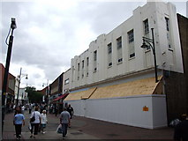 TQ7567 : The old Woolworths building, Chatham High Street by Chris Whippet