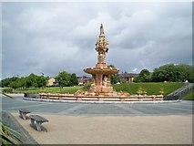 NS6064 : Doulton Fountain by Don Gillies