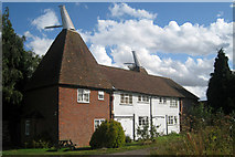 TQ9258 : Church Oast, Kingsdown, Kent by Oast House Archive