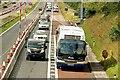 J2965 : Motorway coach near Lisburn (2) by Albert Bridge