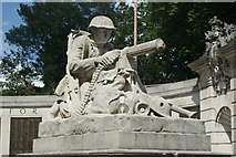 SU6400 : War Memorial, Portsmouth, Hampshire by Peter Trimming