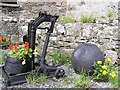 G8462 : Old machinery, Wardtown Castle (1) by Kenneth  Allen