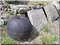 G8462 : Old machinery, Wardtown Castle (3) by Kenneth  Allen
