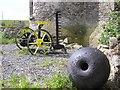 G8462 : Old machinery, Wardtown Castle (4) by Kenneth  Allen
